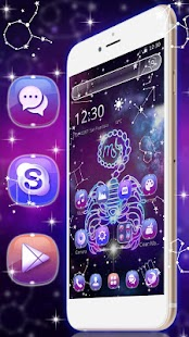 Scorpio-Galaxy Horoscope Launcher - náhled