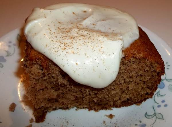 Spice Cake / Cream Cheese Glaze / One Bowl Recipe