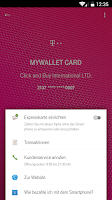 Screenshot of MyWallet by Telekom