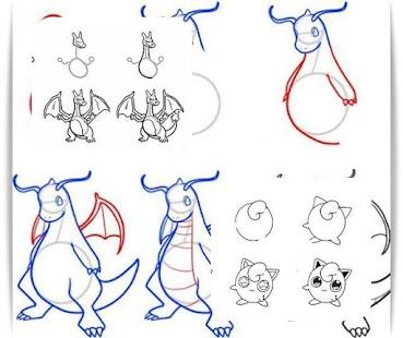 Descargar Aprende a dibujar Pokemon AndoridAprende a dibujar