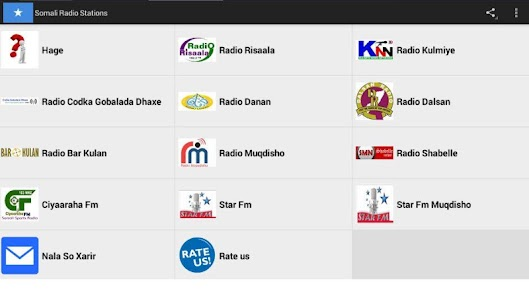 All Somali Radios screenshot 1