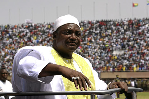 Adama Barrow.   Picture: REUTERS/THIERRY GOUEGNON