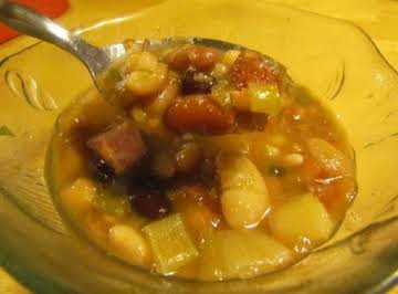 15 Bean Soup with Ham
