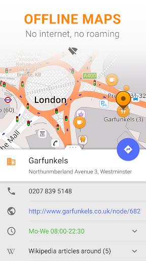 OsmAnd u2014 Offline Travel Maps & Navigation 3.4.3 screenshots 1