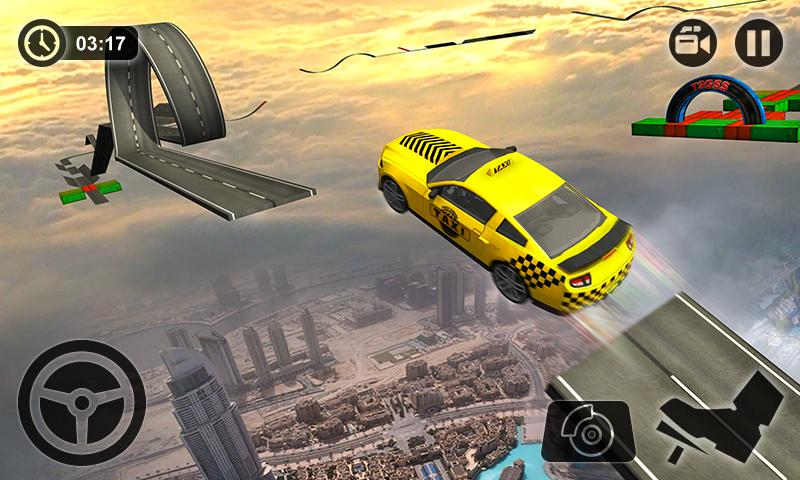 Impossible Taxi Driving Simulator Tracks- screenshot
