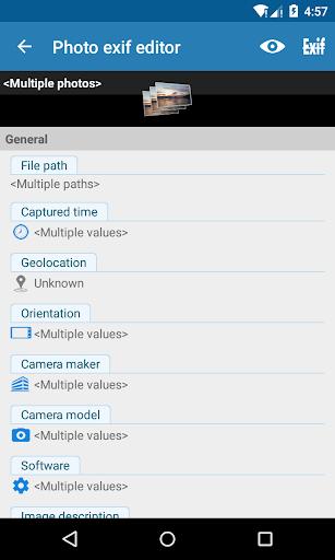 Photo Exif Editor - Metadata Editor 2.2.9 screenshots 8