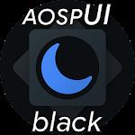 Substratum Black Theme+Samsung,Oreo,Pixel [aospUI] Icon