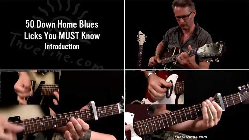 Richard Van Bergen - 50 Down Home Blues Licks You Must Know