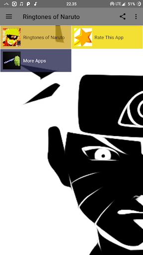 Ringtones of Naruto 1.0 screenshots 3
