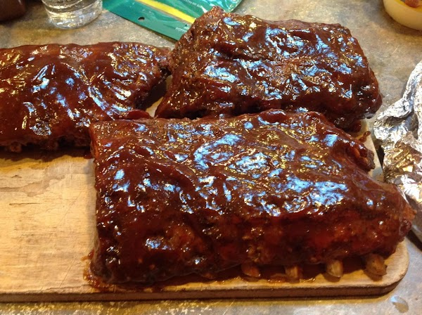 Serve with your favorite Entrée, I served mine with Barbequed Baby Back Ribs.