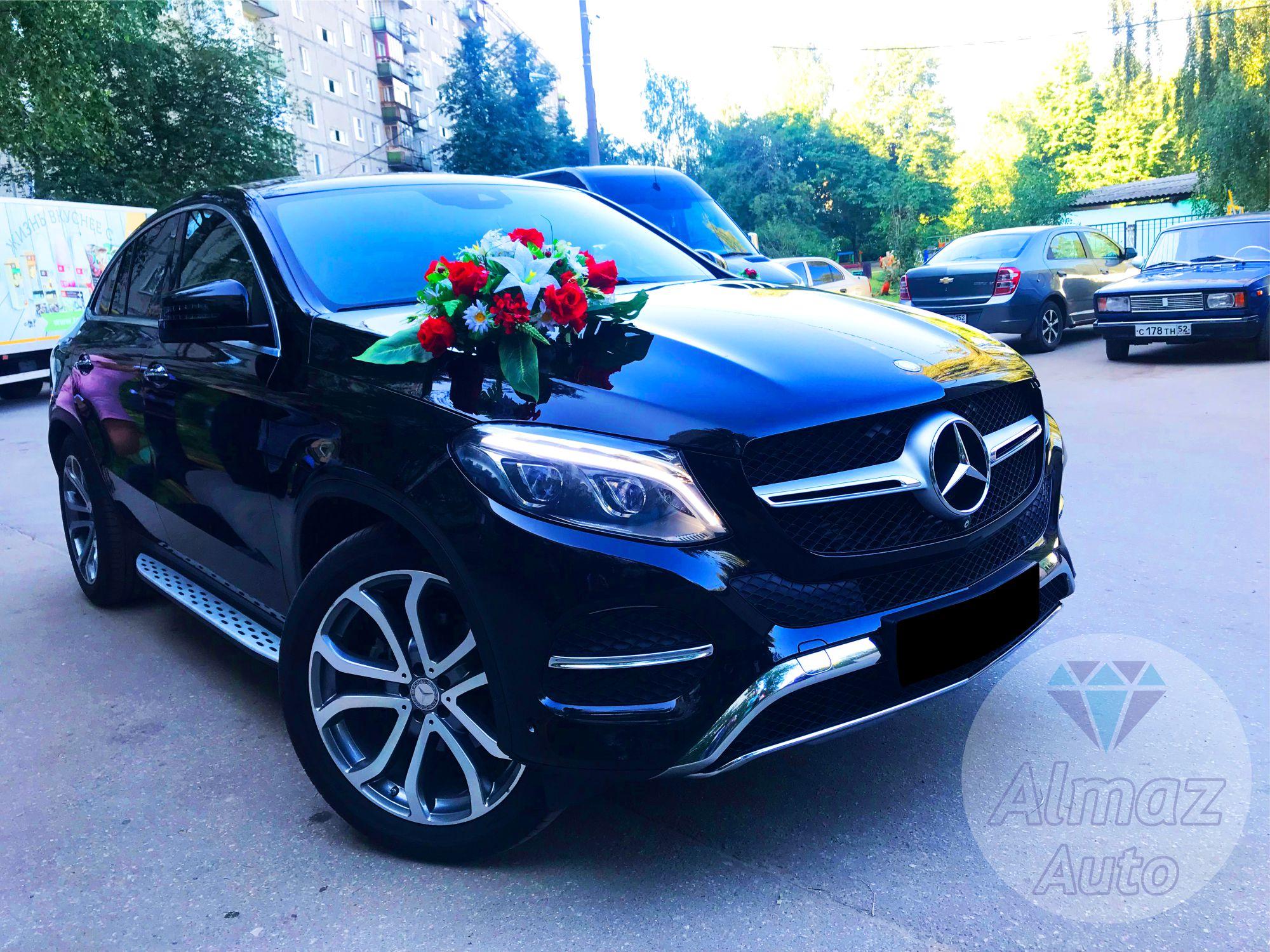 Mercedes Benz GLE-class Coupe в Нижнем Новгороде