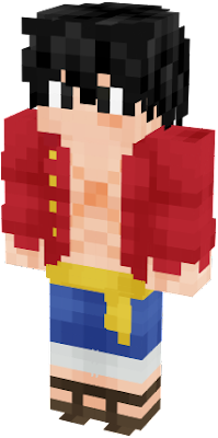 He flared just a teensy bit of haki at the woman to get the point across. Luffy Nova Skin