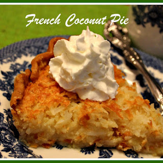 French Coconut Pie!