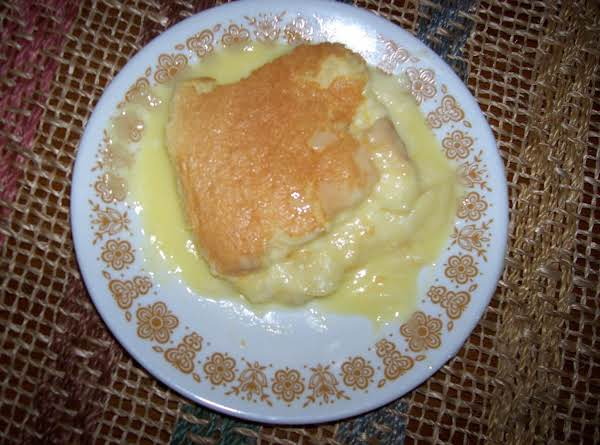 Lemon Pudding Cake Recipe