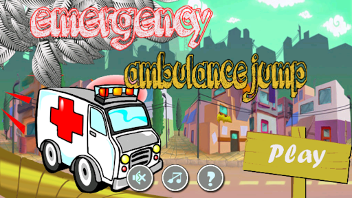 emergency ambulance jump