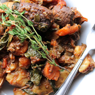 Saucy Slow Braised Beef Stew