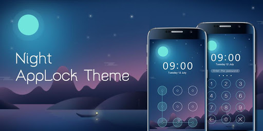 免費下載程式庫與試用程式APP|Applock Theme Night app開箱文|APP開箱王