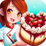Dessert Chain: Café Waitress & Restaurant Chef Icon