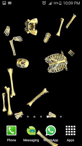 Skeleton Live wallpaper 1 screenshots 4