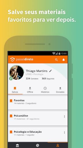 Passei Direto: o melhor app para vocu00ea estudar 4.5.3 screenshots 4