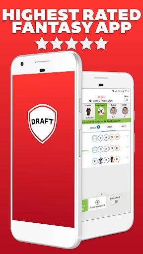 DRAFT: Daily & Season-Long Fantasy Sports Drafts Screenshot