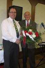 Photo: 10-jähriges Jubiläum von Christian Drescher als GGV-Vorsitzender bei der Kirmesfeier