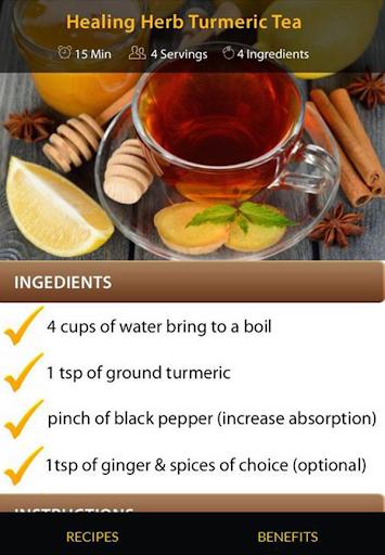 Turmeric Drink Recipes screenshot 20