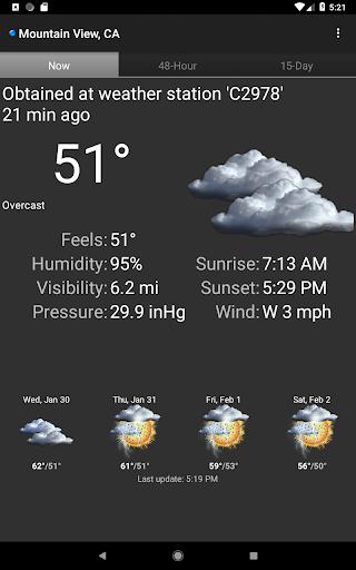 Palmary Weather screenshot 15