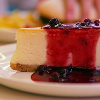 Classic No Bake Cheesecake.