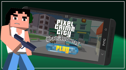 Pixel San Andreas Craft Crime City for PC