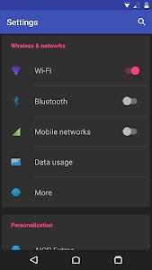 flatshade UI dark for CM12 v1.0.6