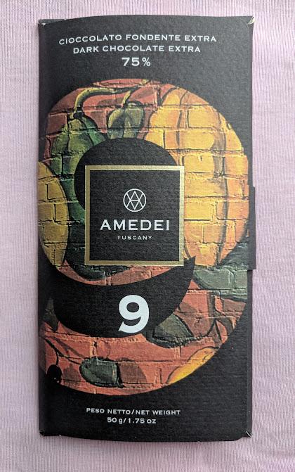 75% 9 Beans Amedei Bar