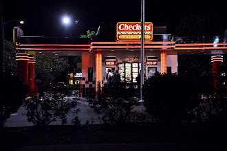 Photo: Checkers drive by.