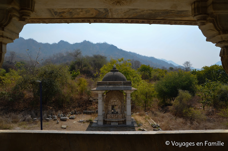 Ranakpur, vue sur montagnes