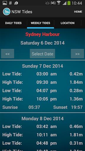 Sydney Nsw Tide Times Apk Download Apkpure