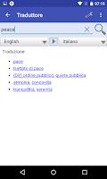 Screenshot of English Translator