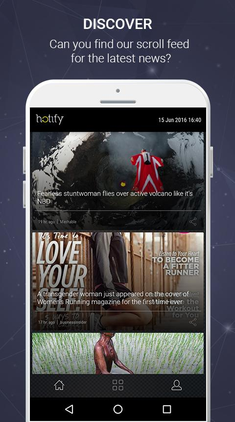 hotify - News You Care About- screenshot