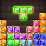 Jewel puzzle : Brick block Icon