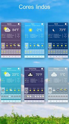 Clima ~ Previsão do tempo screenshot 3