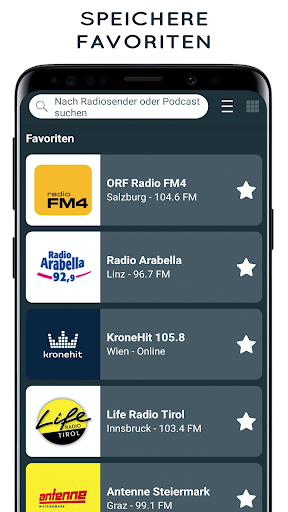 radio austria: online radio, fm radio screenshot 3