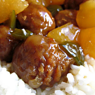 Slow Cooker Hawaiian Meatballs.