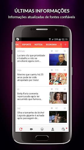 Central das Notícias app (apk) free download for Android/PC/Windows screenshot