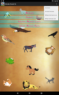 Animals Around Us- screenshot thumbnail
