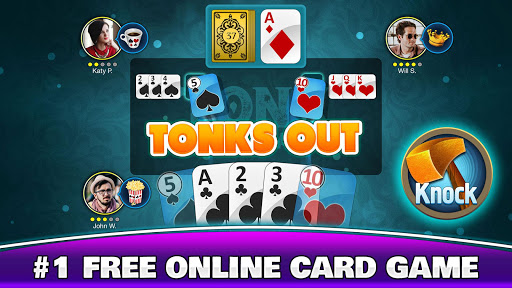 Tonk Online - Multiplayer Card Game For Free screenshot 1