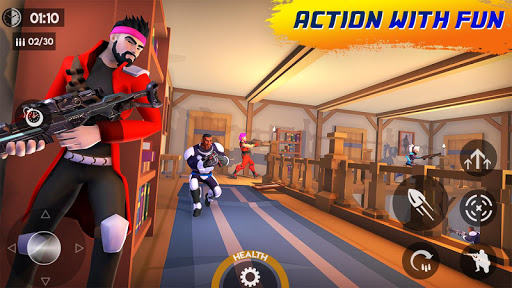 Code Triche Guns Shooter Of Action: Offline PvP New Games 2020 APK MOD (Astuce) screenshots 1