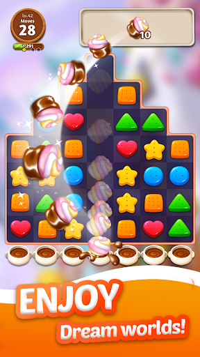Cookie Crunch: Link Match Puzzle  screenshots 1