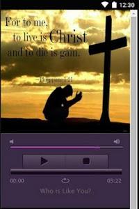 Christian Chat & Song screenshot 4