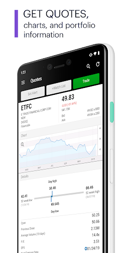 E TRADE Mobile Pro  screenshot 2