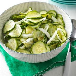 Sweet-Tart Cucumber Salad