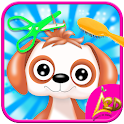 Pet Hair Dress Up Salon -livre icon